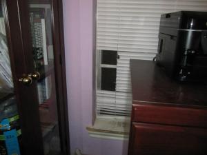 Bandit vs the window blinds